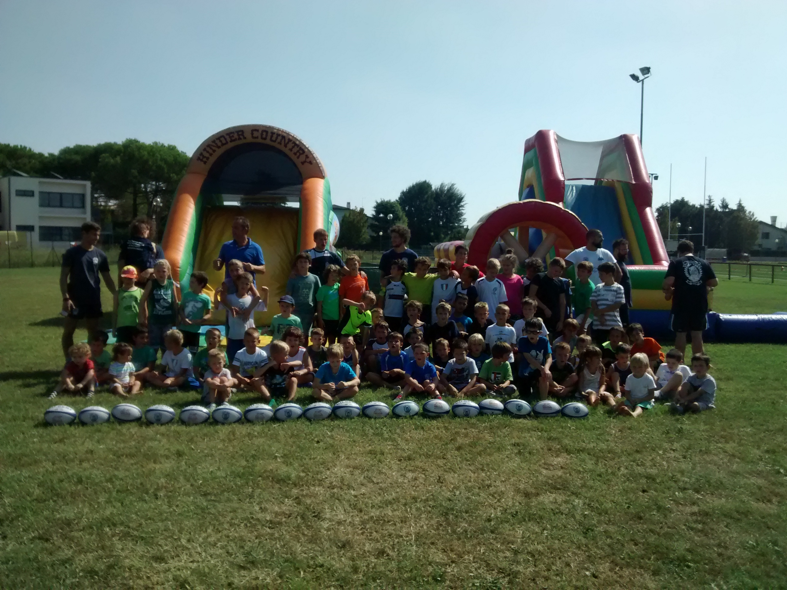 Open day rugby mogliano 2016