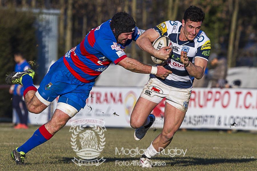 Campionato Eccellenza di rugby, 2016/2017, Stadio Quaggia di Mogliano Veneto, 07/01/2017, Mogliano Rugby Vs Femi-Cz Rovigo, Photo Alfio Guarise