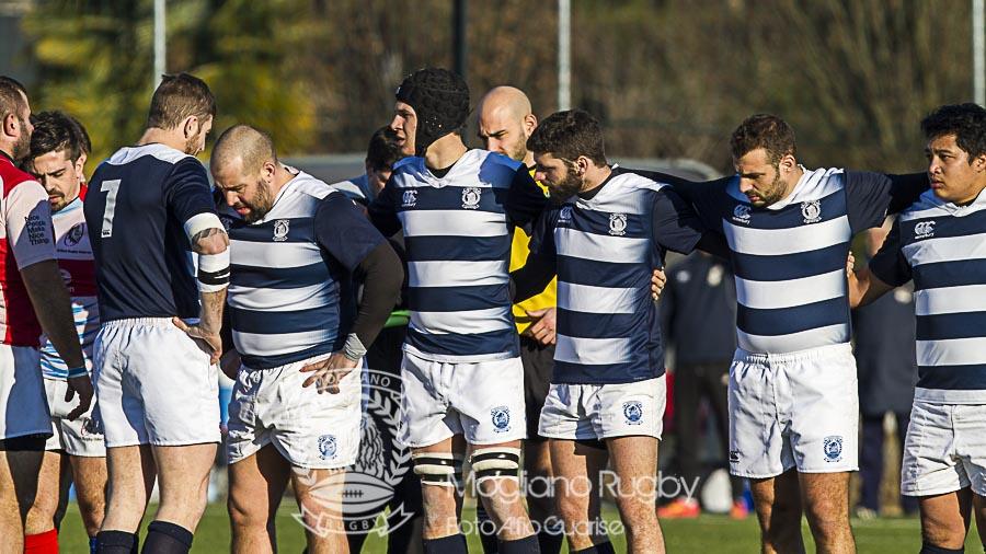 Campionato di Serie B di rugby -  2016/2017 - Stadio Maurizio Quaggia di Mogliano Veneto - 08.01.2017 - Grifoni Oderzo - Amatori Mogliano  -  Foto Alfio Guarise