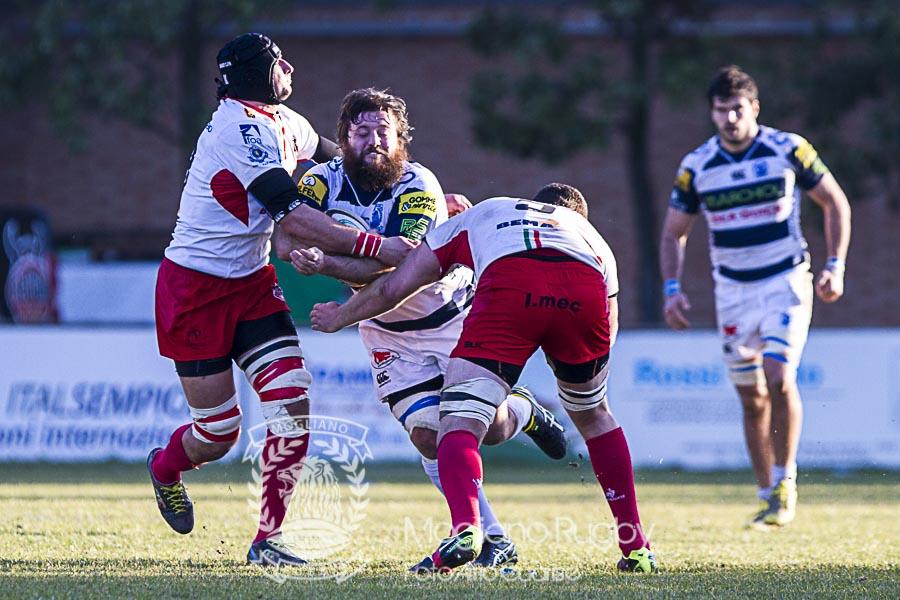Campionato Eccellenza di rugby, 2016/2017, Stadio Canalina - Reggio Emilia - 14022017, Conad Reggio Vs Mogliano Rugby, Photo Alfio Guarise