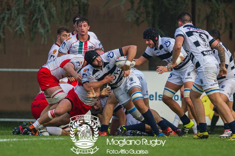 Trofeo Eccellenza di rugby, 2017/2018, Stadio Canalina di Reggio Emilia, 21/10/2017, Conad Reggio Vs Mogliano Rugby, Photo Alfio Guarise