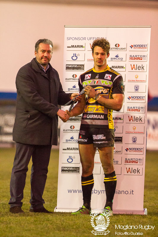 Campionato Eccellenza di rugby, 2017/2018, Stadio Quaggia di Mogliano Veneto, 23/12/2017, Mogliano Rugby Vs Patarò Calvisano, Photo Alfio Guarise