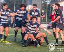 Campionato di Serie B di rugby -  2017/2018 - Stadio Maurizio Quaggia di Mogliano Veneto - 28.01.2018 - Mogliano Rugby - Rugby Viadana-  Foto Alfio Guarise
