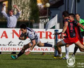 Campionato Eccellenza di rugby, 2017/2018, Stadio Quaggia di Mogliano Veneto, 08/04/2018, Mogliano Rugby Vs Conad Reggio Rugby, Photo Alfio Guarise