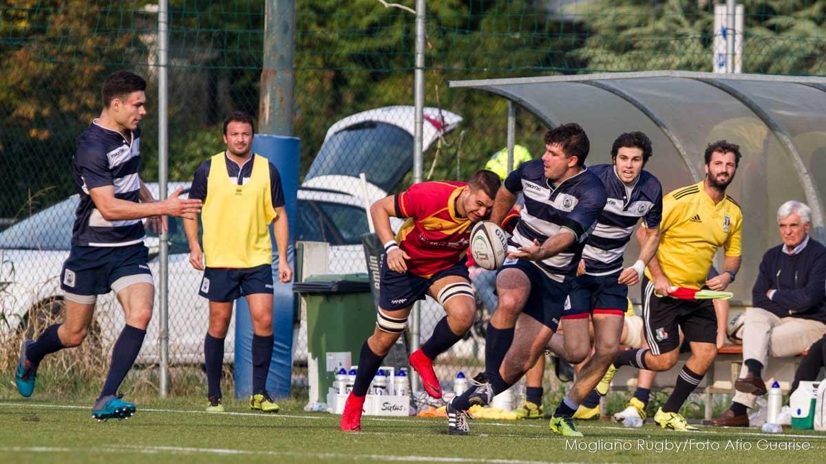 20181014, Serie B, Mogliano v Cus Padova, Rugby, Mogliano Veneto, foto alfio guarise, Stadio Maurizio Quaggia