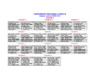 Calendario Serie B girone 3 2018 2019
