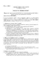 Avviso Bando Bonus Sport 2019-20